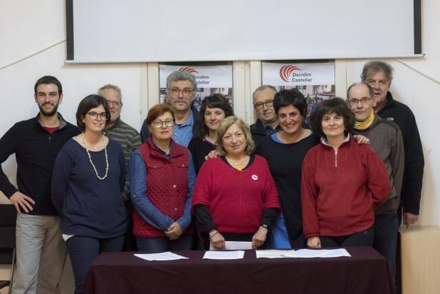 Simpatitzants i membres que han format part de Decidim Castellar - F.Muñoz