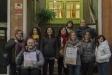 Membres de l'Assemblea de Dones d'ERC, durant la presentació de l'exposició