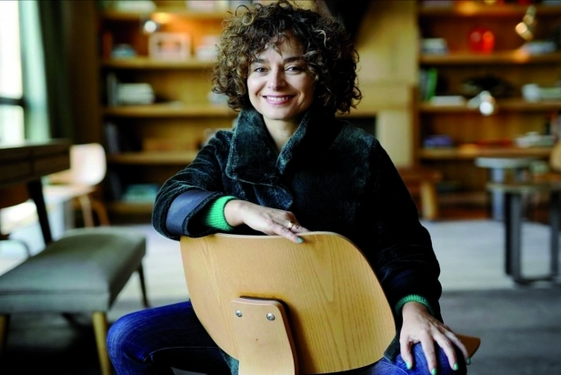 Anna R. Costa, creadora, guionista i directora de 'Arde Madrid'. || CEDIDA