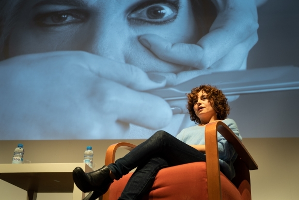 La directora castellarenca Anna R. Costa, al BRAM! 2019. || Q. PASCUAL