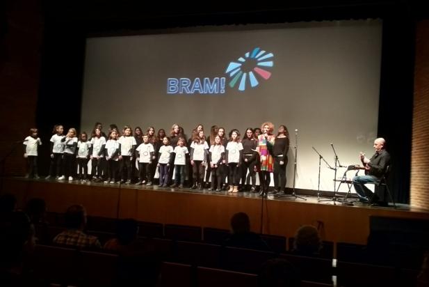El Cor Sant Esteve va actuar al BRAM! Infantil, a l'Auditori Municipal. || CEDIDA