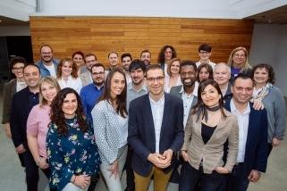 Els integrants de la candidatura electoral de Som de Castellar - PSC encapçalats per Ignasi Giménez. || Cedida