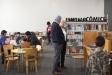 La Biblioteca ja es va omplir dels primers usuaris, aquest dissabte