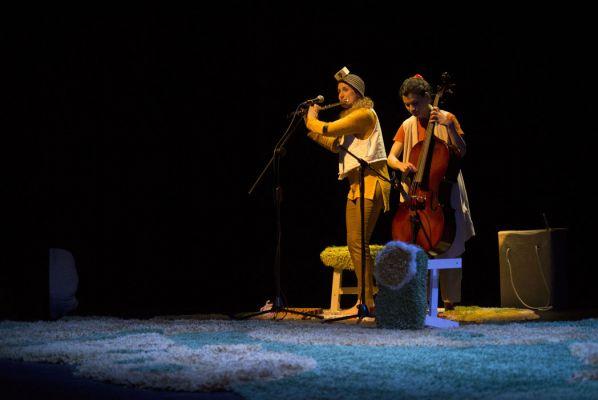 Moment de 'Loops' d'Engruna Teatre. || CEDIDA