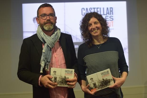 Llorenç Genescà i Belén Teruel, autors de 'Castellar del Vallès desaparegut'. || F. MUÑOZ