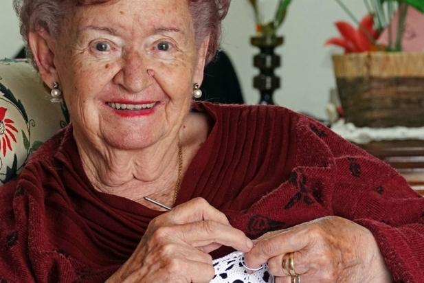 Maria Noguera, cosidora i brodadora