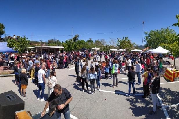 Bona participació a la Festa de primavera de Can Font.    CEDIDA