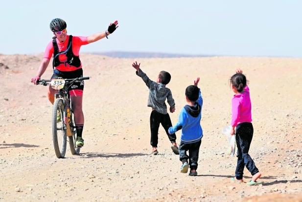 Mar Hernández va participar per quarta vegada a la Titan Desert, la cursa per etapes més dura del món. || cedida