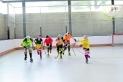 Part del FEM12 del Castellar, l'únic equip d'hoquei sobre patins femení de Castellar