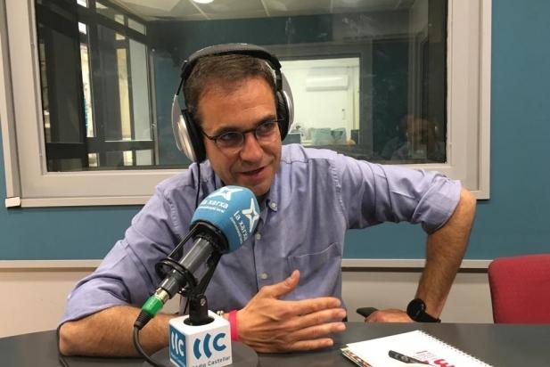 Ignasi Giménez, cap de llista de Som de Castellar-PSC, a l'entrevista a Ràdio Castellar