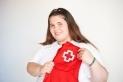 Amanda Yélamos, voluntària de Creu Roja