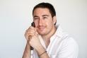Miguel Porras, s'acaba de graduar en educació social