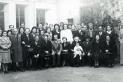Casament castellarenc (3), 4 de març de 1946. || Fons: Josep M. Ferrer Voltà ||Autor: desconegut