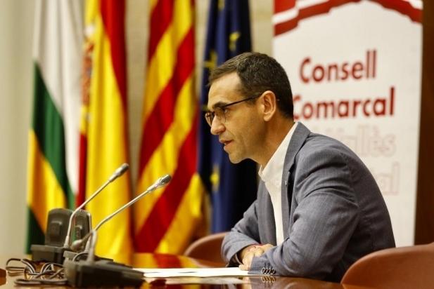 Giménez revalida la presidència del Consell Comarcal - J.R.