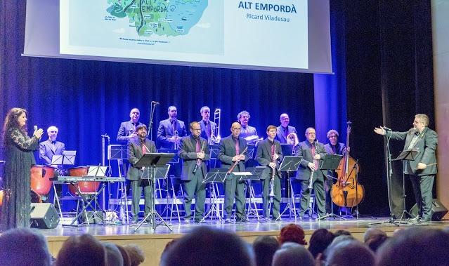 Una imatge d'arxiu del concert homenatge a Viladesau