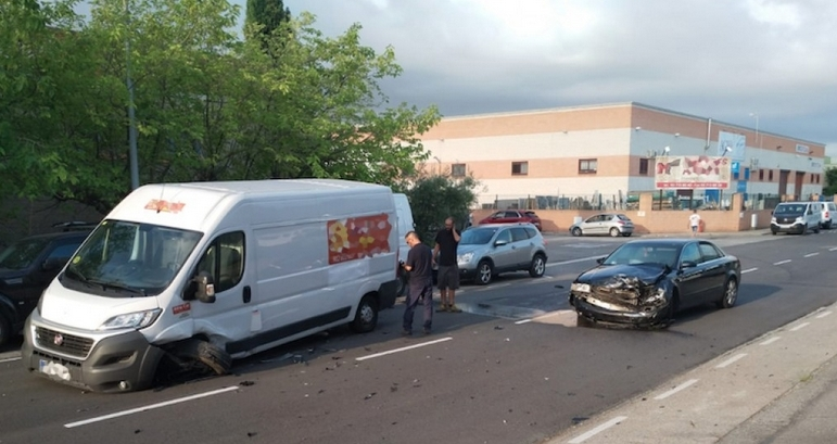 Accident al carrer Monstià - Dani Sánchez