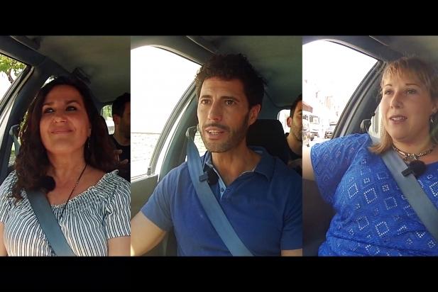 Joana Borrego, Matías de la Guardia i Anna Margalef