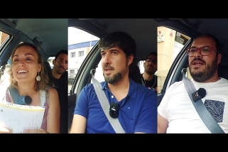 Núria Raspall, Joan Creus i Dani Pérez
