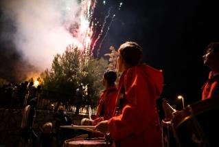 101 Correfoc infernal 2019. Foto: Q. Pascual
