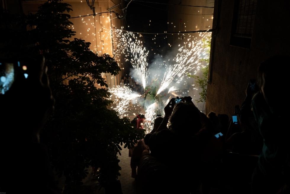 107 Correfoc infernal 2019.  Foto: Q. Pascual