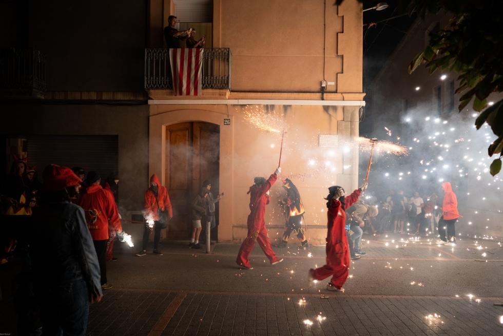 108 Correfoc infernal 2019.  Foto: Q. Pascual