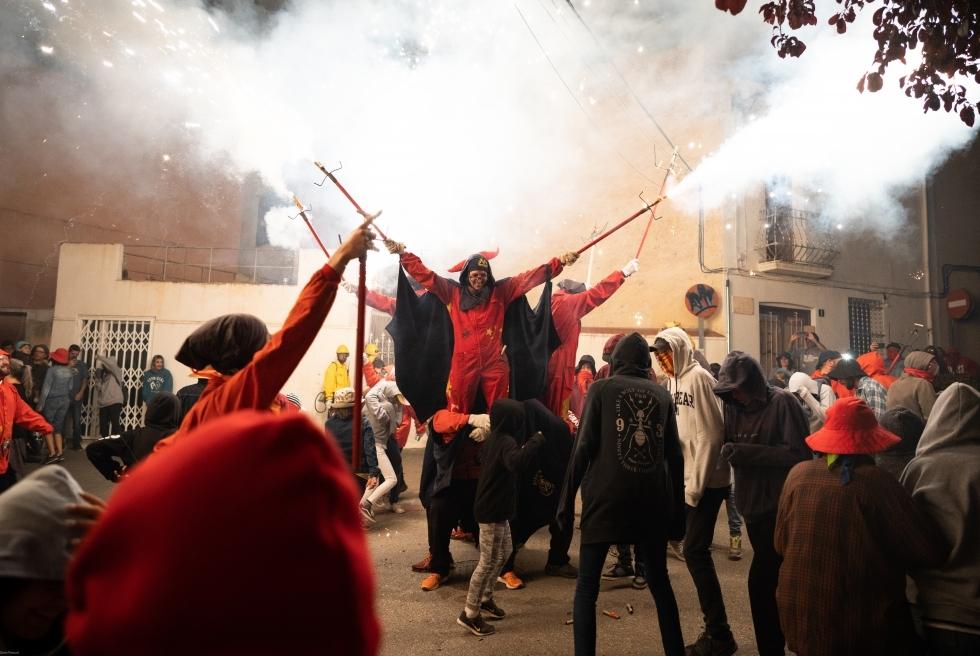 109 Correfoc infernal 2019.  Foto: Q. Pascual
