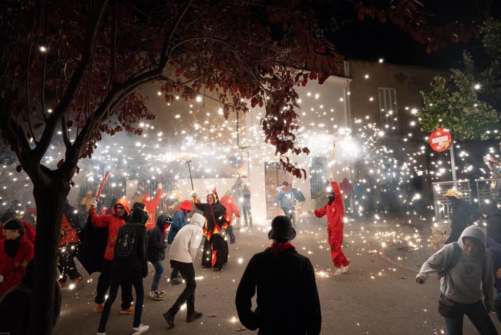 110 Correfoc infernal 2019.  Foto: Q. Pascual