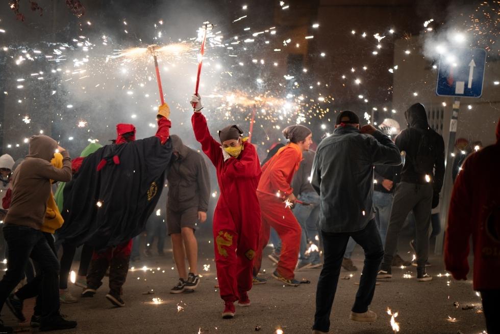 111 Correfoc infernal 2019.  Foto: Q. Pascual
