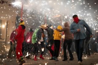113 Correfoc infernal 2019.  Foto: Q. Pascual