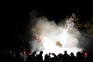 114 Correfoc infernal 2019.  Foto: Q. Pascual
