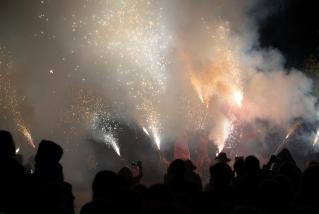 115 Correfoc infernal 2019.  Foto: Q. Pascual