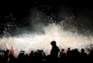 116 Correfoc infernal 2019.  Foto: Q. Pascual