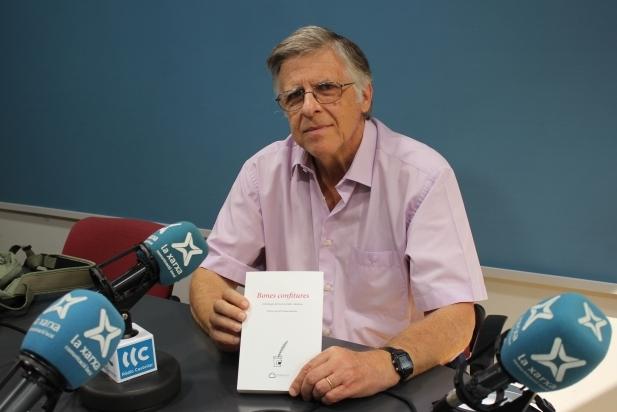 Pere Herrero va visitar Ràdio Castellar per parlar-nos de l'antologia 'Bones confitures', on hi participa.    M. ANTÚNEZ