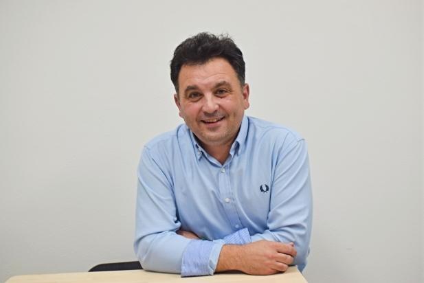 Miki Vilanova, venedor de la botiga Catalonian Food i secretari tècnic de la UEC