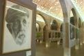 El quadre de Llorenç Caballé, on retrata la mirada d'Antoni Costa, es pot visitar al Centre Artístic Sant Lluc. || CEDIDA