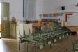 Una aula buida de l'escola Emili Carles-Tolrà aquest divendres amb motiu de la vaga. C.D.