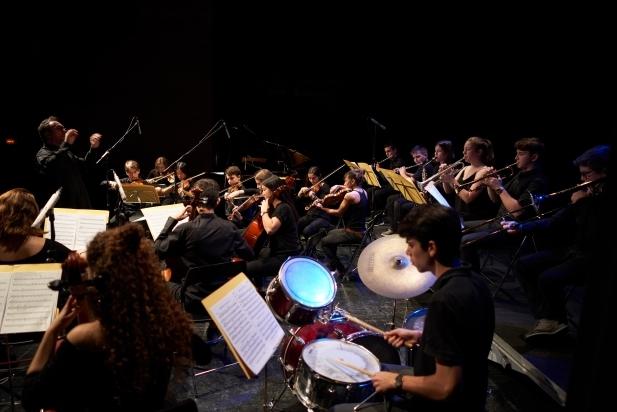 Els músics de la JOCVA feia mesos que assajaven el concert