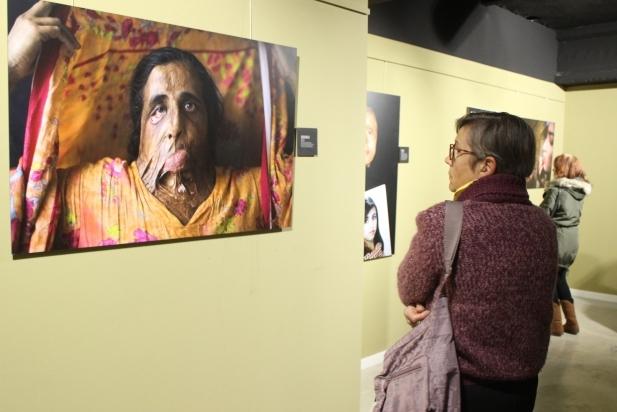 La mostra es va inaugurar dimecres passat a la Sala d'Exposicions d'El Mirador - R.G.