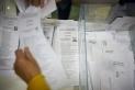 Recompte de vots de les eleccions del 10 de novembre que han suposat el triomf d'ERC a Castellar. Q.P.