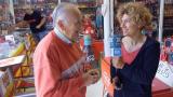 Antonio Martínez al 'Passeu, passeu', amb Marina Antúnez