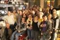 La secció local d'ERC (primera força a Castellar i Catalunya) es van reunir al bar Stewart / Cedida