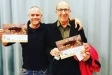Roger Trunes i Martí Tió, segon i primer premi respectivament del concurs de ratafia L'Estevet