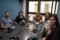 Una visita dels membres del Consell d'Adolescents a Ràdio Castellar el juliol de 2019
