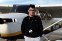 David Sabat, el pilot privat més jove d'Espanya amb 17 anys