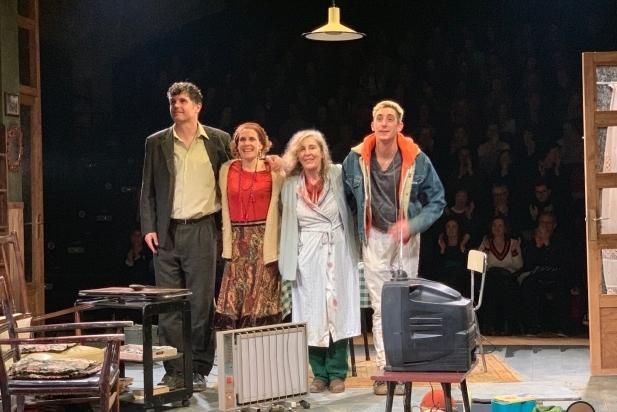 D'esquerra a dreta, Ernest Villegas, Marta Marco, Marissa Josa i Enric Auquer.    CEDIDA