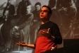 El divulgador musical Pere Andreu Jariod a la conferència de L'Aula