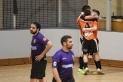 Els jugadors del FS Castellar celebren el primer gol enfront del Castellbisbal.