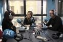 La presentadora del Dotze de Ràdio Castellar, Raquel Ligero, en una entrevista al programa de dilluns passat. C.D.