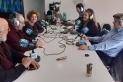 El magazín Dotze, amb Raquel Ligero i Carlos Lecegui, moderant una tertúlia amb Marina Antúnez, Òscar Cardona, Gener Martí i Francisco Espinosa