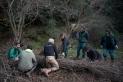 Alumnes de l'institut Les Garberes treballant amb personal de Naturalea pels voltants del riu Ripoll